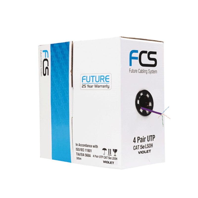 Cat 5e UTP Cable LSZH Violet in colour